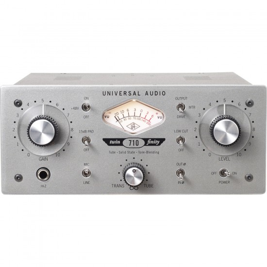 710 Twin-Finity Single-Channel Tube & Solid State Tone-Blending