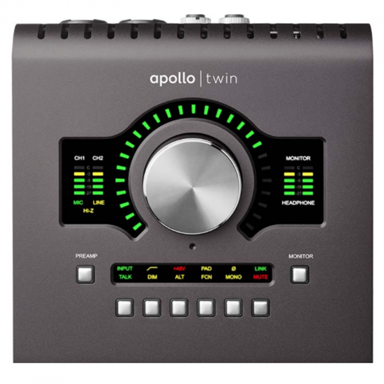 Apollo Twin MkII w/ QUAD Processing