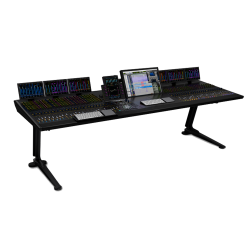 S6 M40 16-5-D, 16 Faders, 5 Knobs per channel, 2 Display Modules
